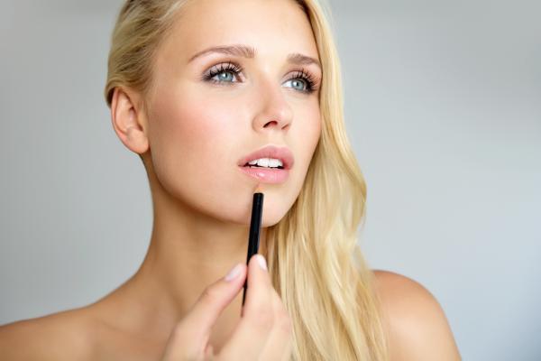 Make up und Haare für Beauty Commercial