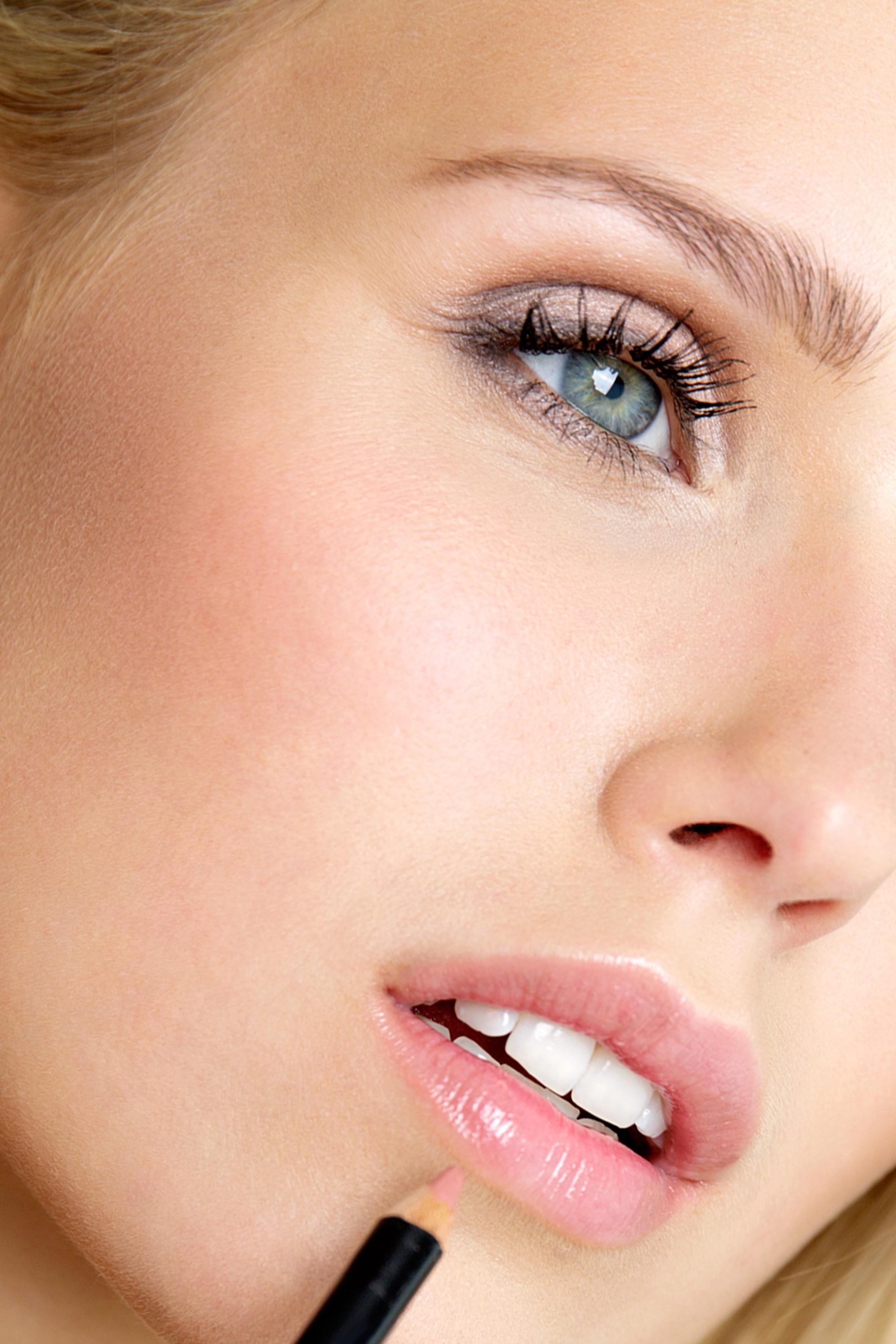Professionelles Beauty Make up für Werbung, kommerzielle Kampagnen