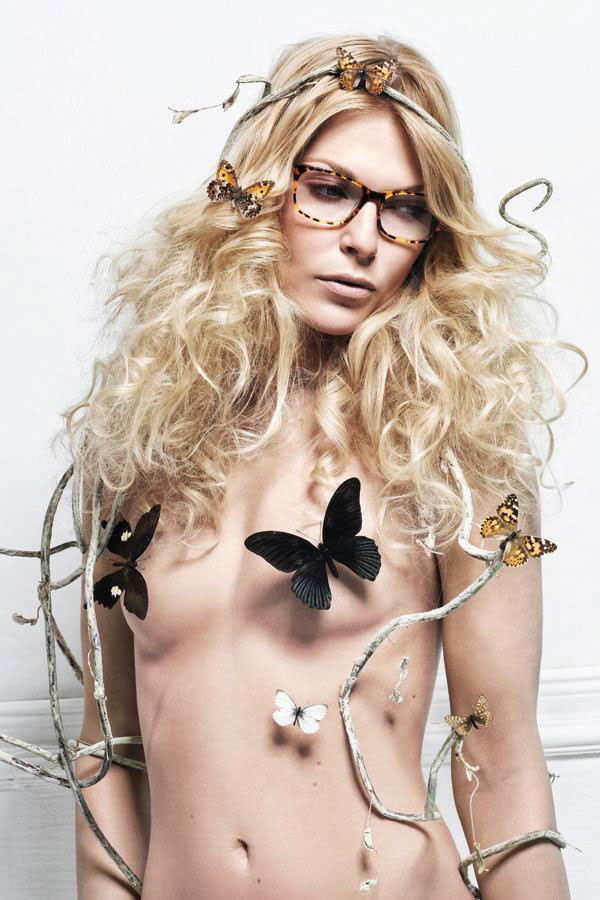 Hair and Make up Artist print medien, eyewear Magazine