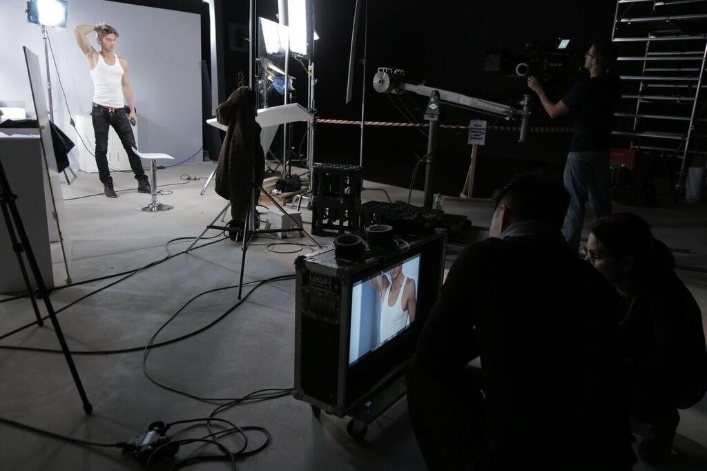 Fotoproduktion, Body Make up Check, Werbeproduktion
