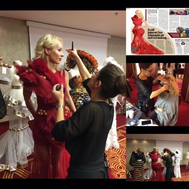 Lambertz Fashion Night, Cora Schumacher, Celebreties Styling