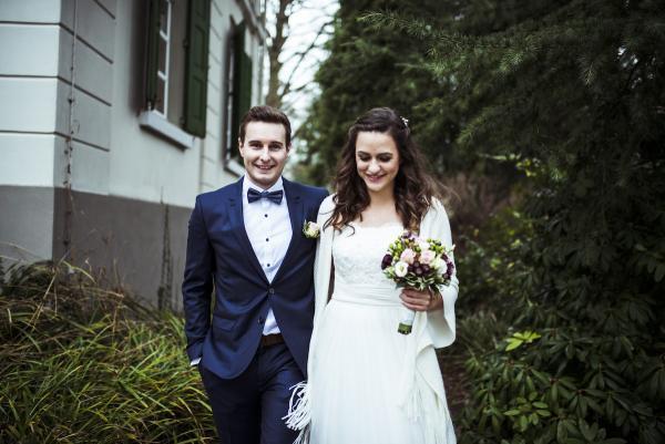 weiter wedding, Brautfrisur Düsseldorf, Winter Hochzeit in Beerenfarben