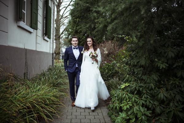 Bohemian Hochzeit im Winter, Hochzeitslocation Schloss Linepp