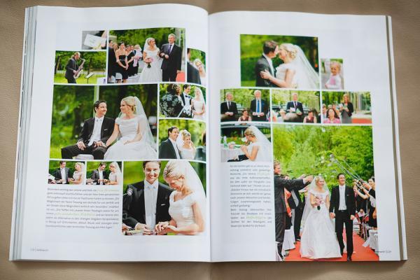 Hochzeitsmake up und Frisur Monika Mages Veröffentlichung