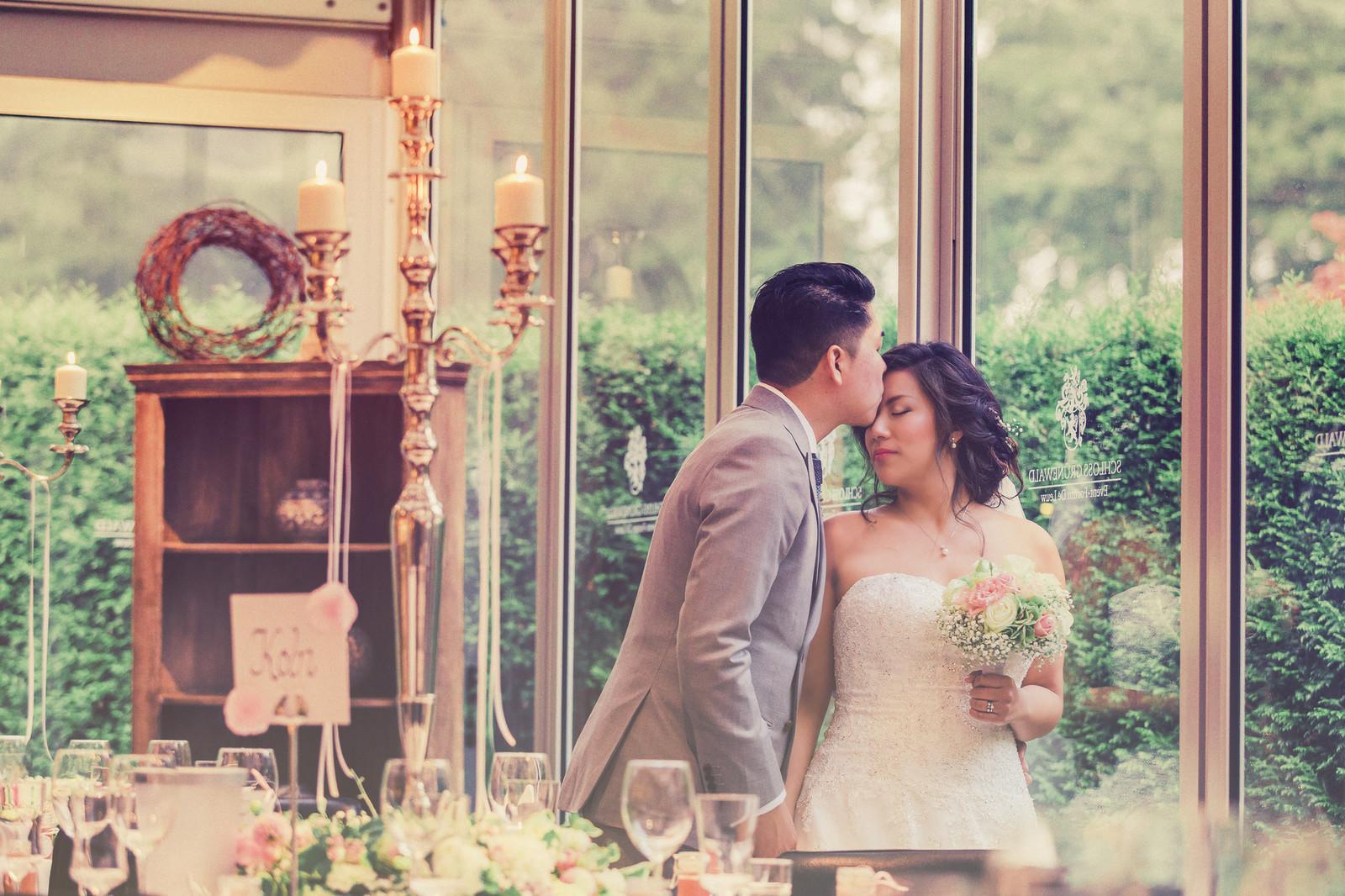 Hochzeitsstyling für Asiatinnen