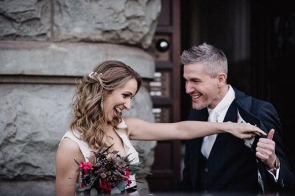 Vintage weddinglove echte Momentaufnahmen am Hochzeitstag