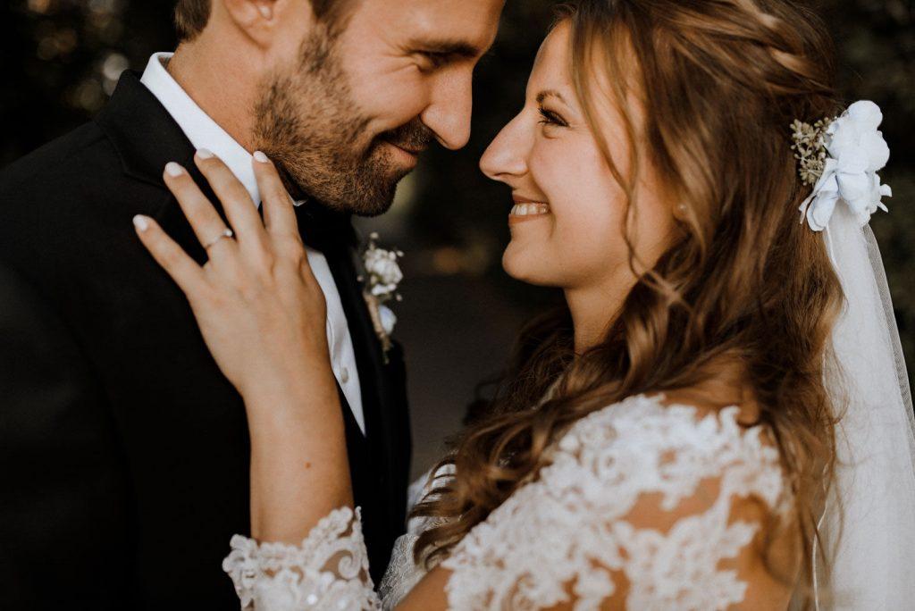 wundervolles Hochzeitsbild