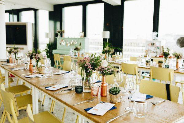 Tischdeko Hochzeitslocation Düsseldorf