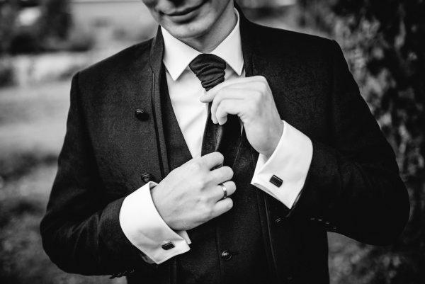 Manstyling wedding