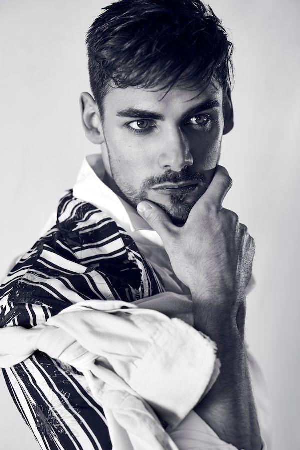 Editorial Männer mode Porträt