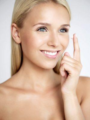 Beauty make up für Werbung